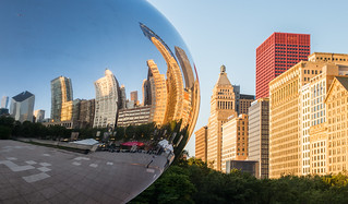 Chicago: Cloud Gate | by romanboed