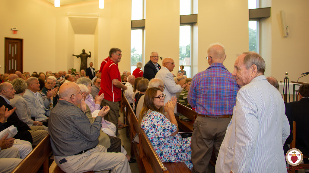 Plus 50 Mass & Reception 2019