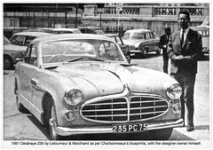 1951/1953 DELAHAYE 235 Letourneur & Marchand Coupé