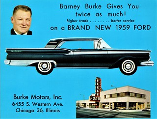 Chicago Motors Inc >> 1959 Ford Galaxie Burke Motors Inc Chicago Il 6455 S We