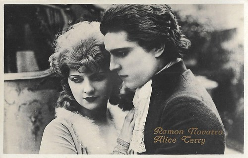 Ramon Novaro and Alice Terry in Scaramouche (1923)