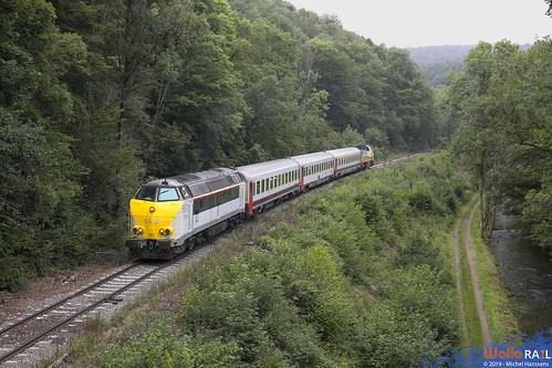 5512 . SNCB . Evrehailles - Bauche . 17.08.19.