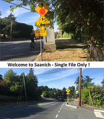 Cyclists BEWARE in Saanich (2019) (1 of 2)