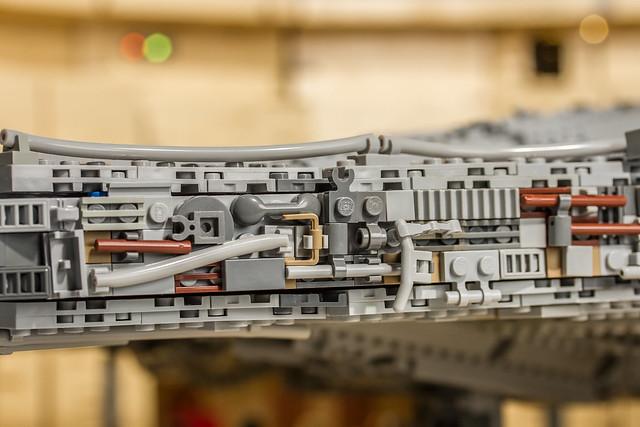 LEGO Millennium Falcon close-up