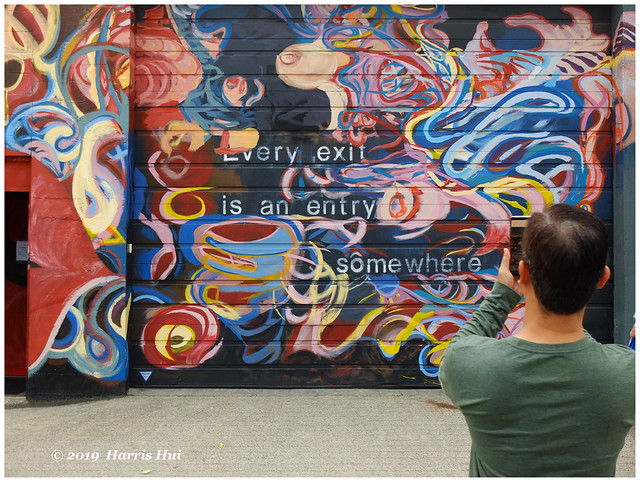 Every Exit Is An Entry - Vancouver Mural Festival X5425e
