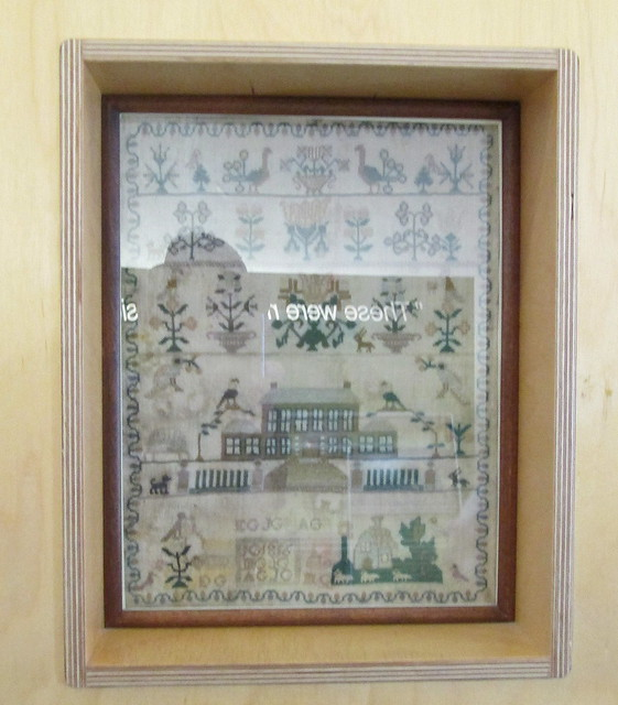 John Muir's birthplace, embroidery Sampler