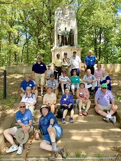 I spent an enjoyable day at the Kennesaw Mountain National Battlefield Park with students from Emory Continuing Education! #civilwar
