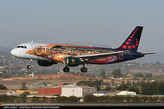 Brussels Airlines A320 OOSNF