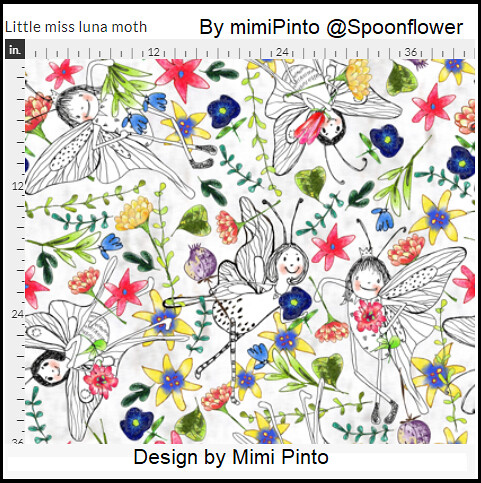 Little Miss Luna Moth