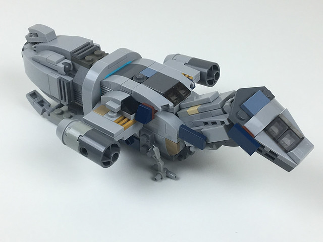 Firefly Class Vessel - Serenity Micro Scale