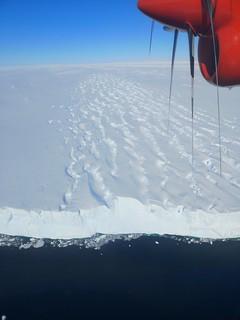 The Edge of Pine Island Glacier