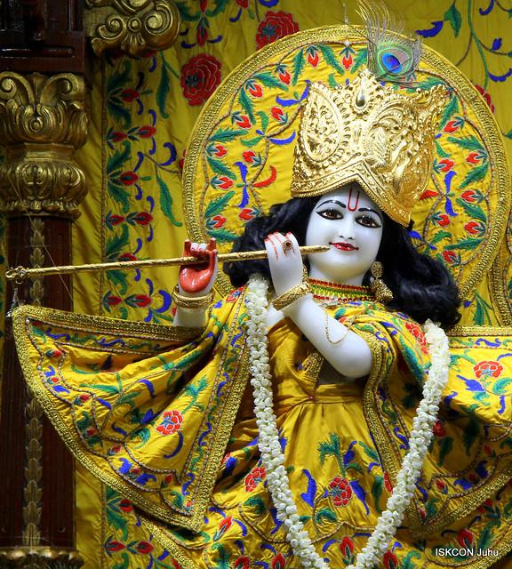 ISKCON Juhu Mangal Deity Darshan on 21st Aug 2019