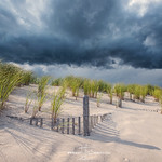 20. August 2019 - 20:07 - A severe thunderstorm approached the southern shores of New Jersey in August 2019,  www.jeffberkes.com