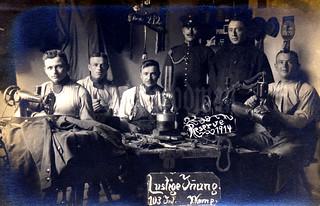 """Lustige Innung 103 Inf. 7. Komp."" / Kgl. Sächs. 4. Infanterie-Regiment Nr. 103"