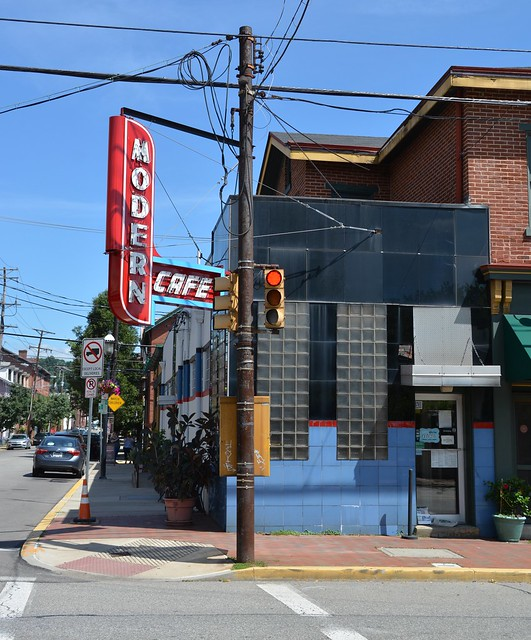 The Modern Cafe. Northside Pgh., PA