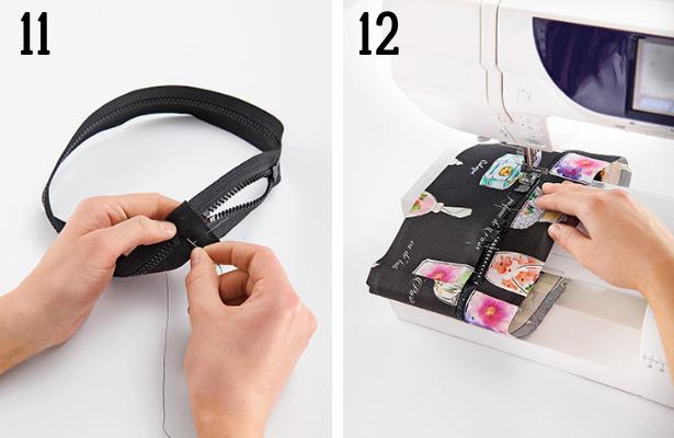 Perfume Bag DIY Steps 11 12