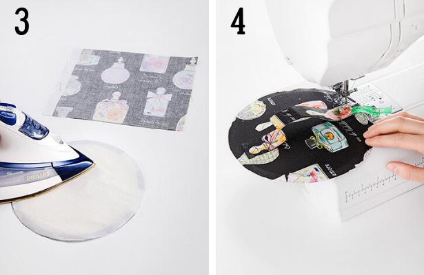 Perfume Bag DIY Steps 3 4