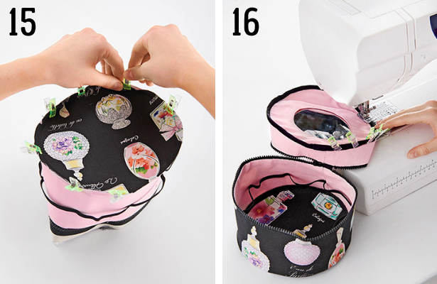 Perfume Bag DIY Steps 15 16
