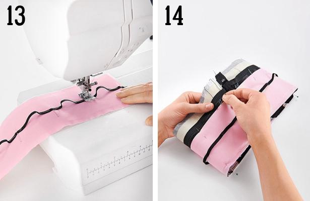 Perfume Bag DIY Steps 13 14