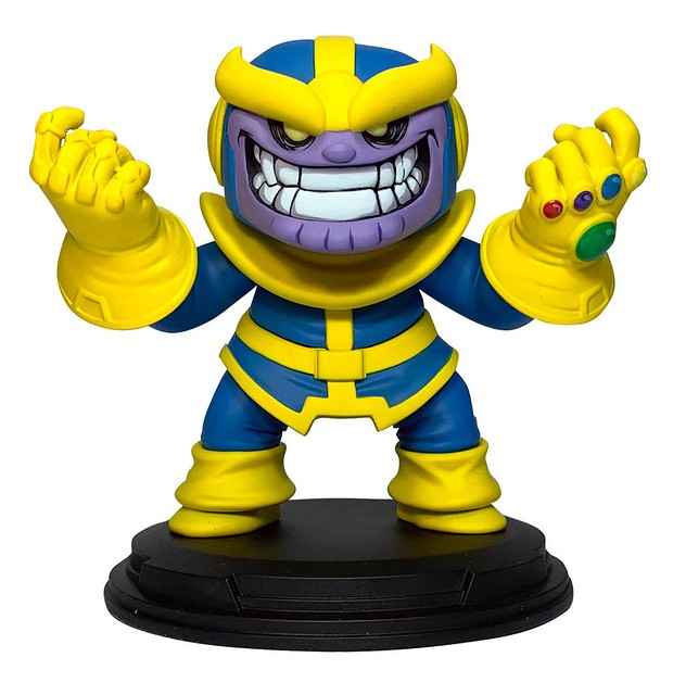 能在瞬間消滅宇宙一半生命的瘋狂....小屁孩?! DST × Gentle Giant Marvel Comics【薩諾斯】Thanos Animated Statue