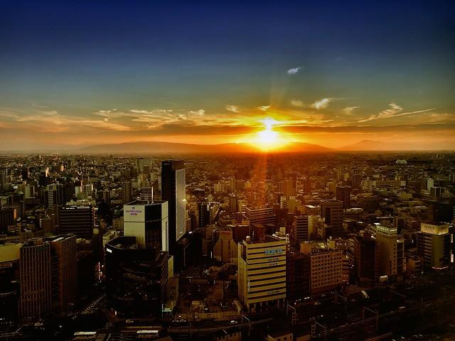 Nagoya Sunset