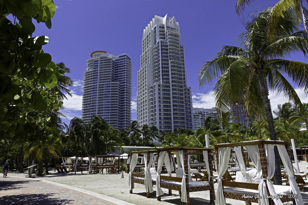 the nikki beach miami and the continuum on south beach