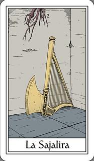 La Sajalira - The Harp-Axe