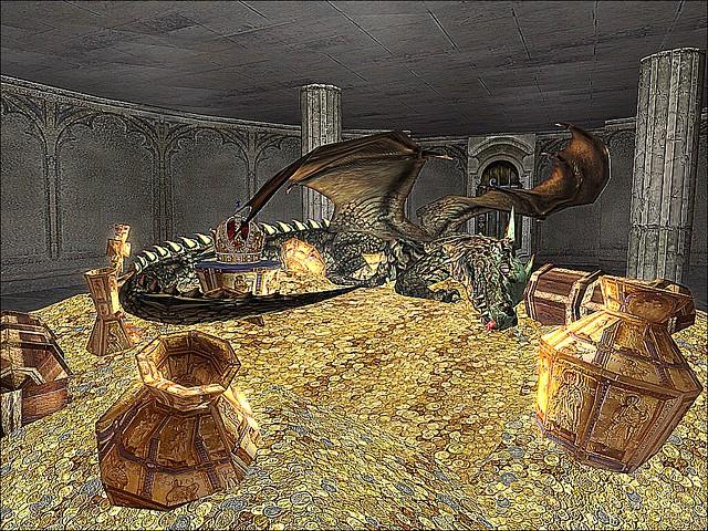FaNg Sanctuary Island - The Staurolite Library - Dragon's Treasure