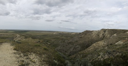 Grasslands National Park West Block -70 Mile Butte view