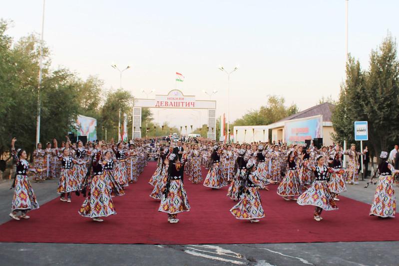 Ифтитоҳи 17 километр роҳи мошингард дар ноҳияи Деваштич   21.08.2019