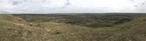 Grasslands National Park West Block - View from the 70 Mile Butte