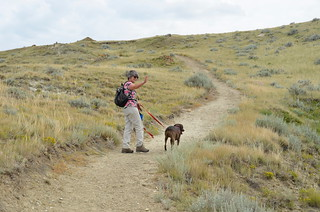 Grasslands National Park West Block - Linda on another trail | by Pierre Yeremian