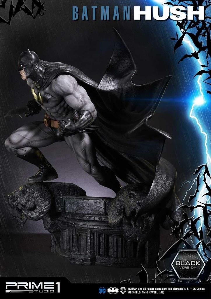 Prime 1 Studio《蝙蝠俠:緘默》蝙蝠俠 Black Ver. バットマン:ハッシュ バットマン ブラックバージョン MMDCBH-01BL 1/3 比例全身雕像作品