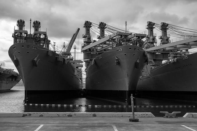 USS Hornet / Old Alameda Point, Alameda, California, USA