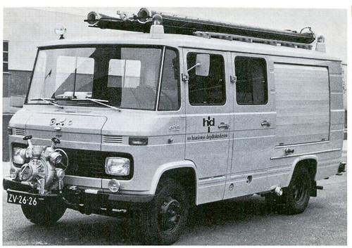 """ZV-26-26 Mercedes-Benz L408G """"Haarlemse Diepdruk Industrie"""""""