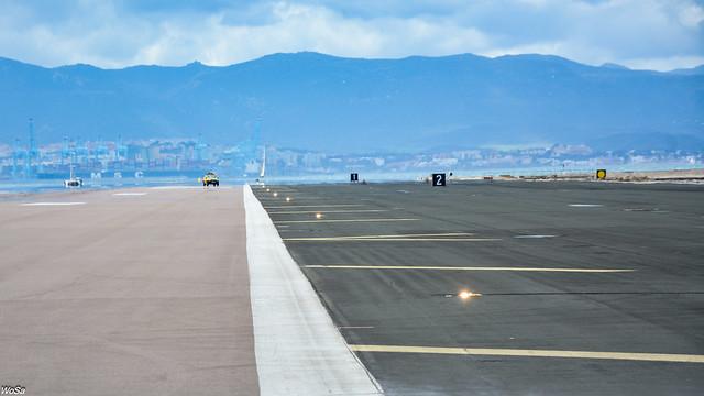 ... run on the runway ...