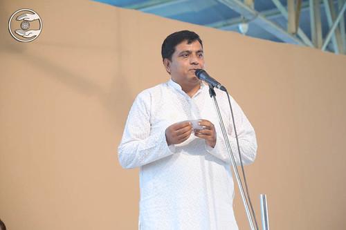 Surinder Jajal thanking Satguru, Uttarakhand