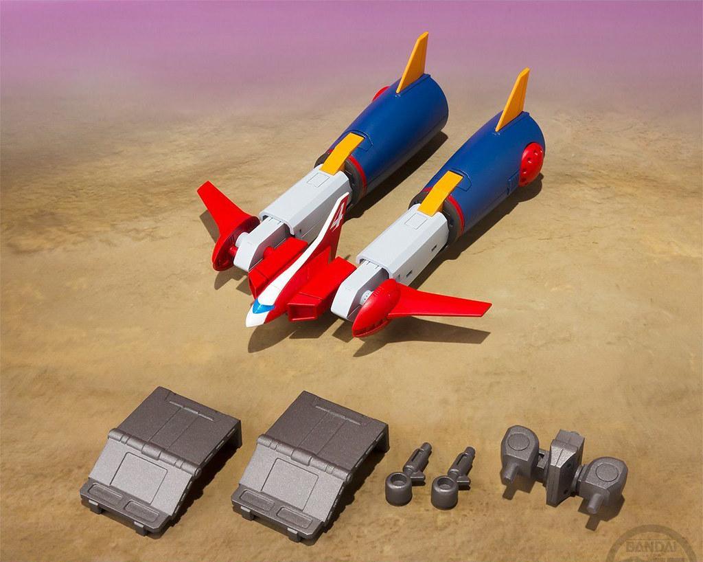 再現 Grand Dasher 戰車型態!!萬代 Super Minipla 盒玩份量豪華最新作《超電磁機器人 孔巴特拉V(超電磁ロボ コン・バトラーV)》合體現身!
