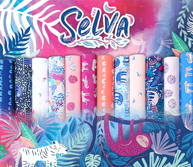 Art Gallery Fabrics Selva Collection by AGF Studio