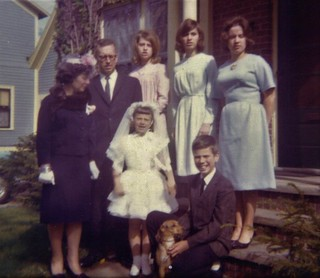 First Holy Communion Day a big day in the life of a Catholic school kid in the 1960's