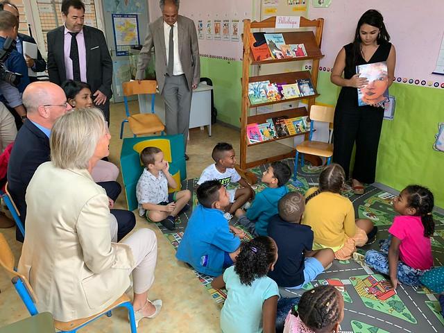 École inclusive: déplacement à la Réunion