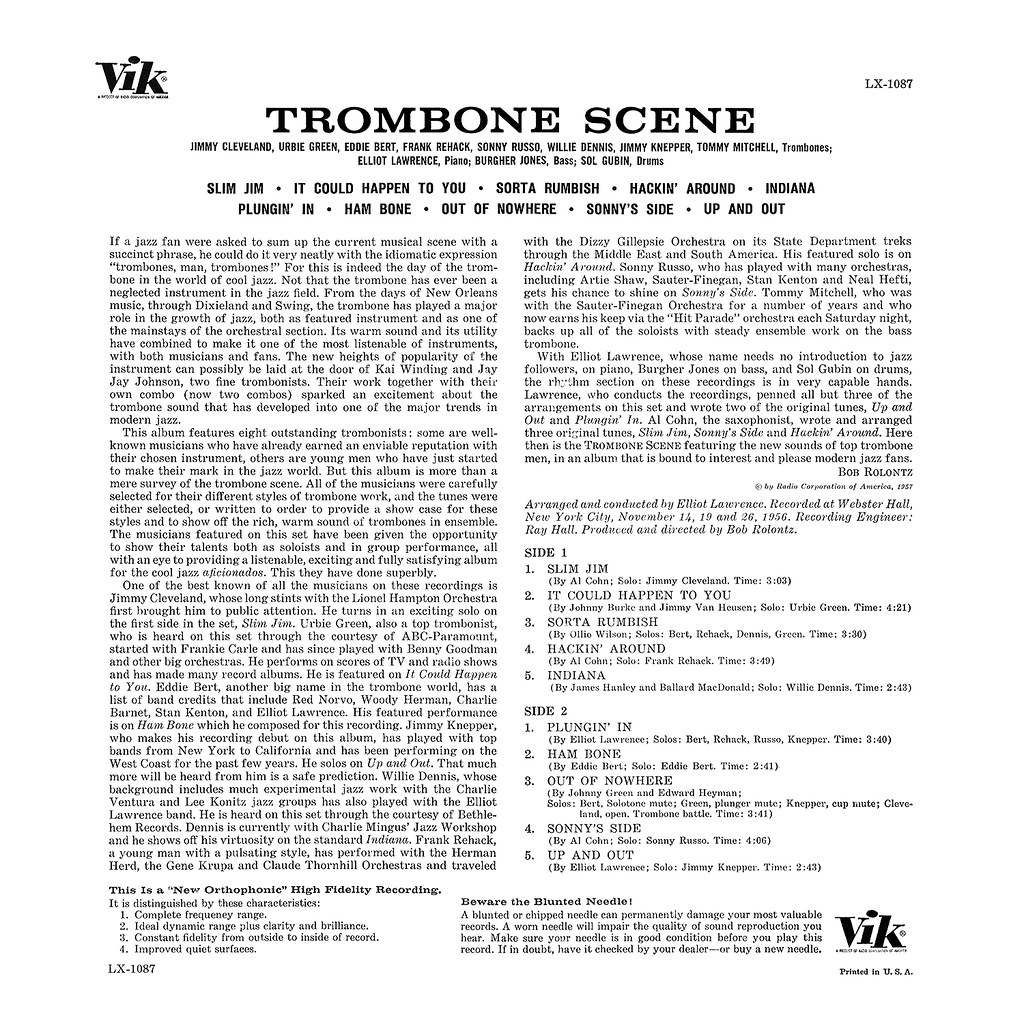 Various Artists - Trombone Scene