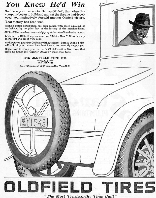 Oldfield Tires 1920