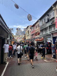 China Town. Singapur