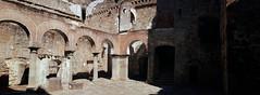 patio de armas del castillo de Mombeltrán