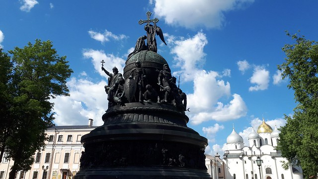 Millennium of Russia Monument Veliky Novgorod