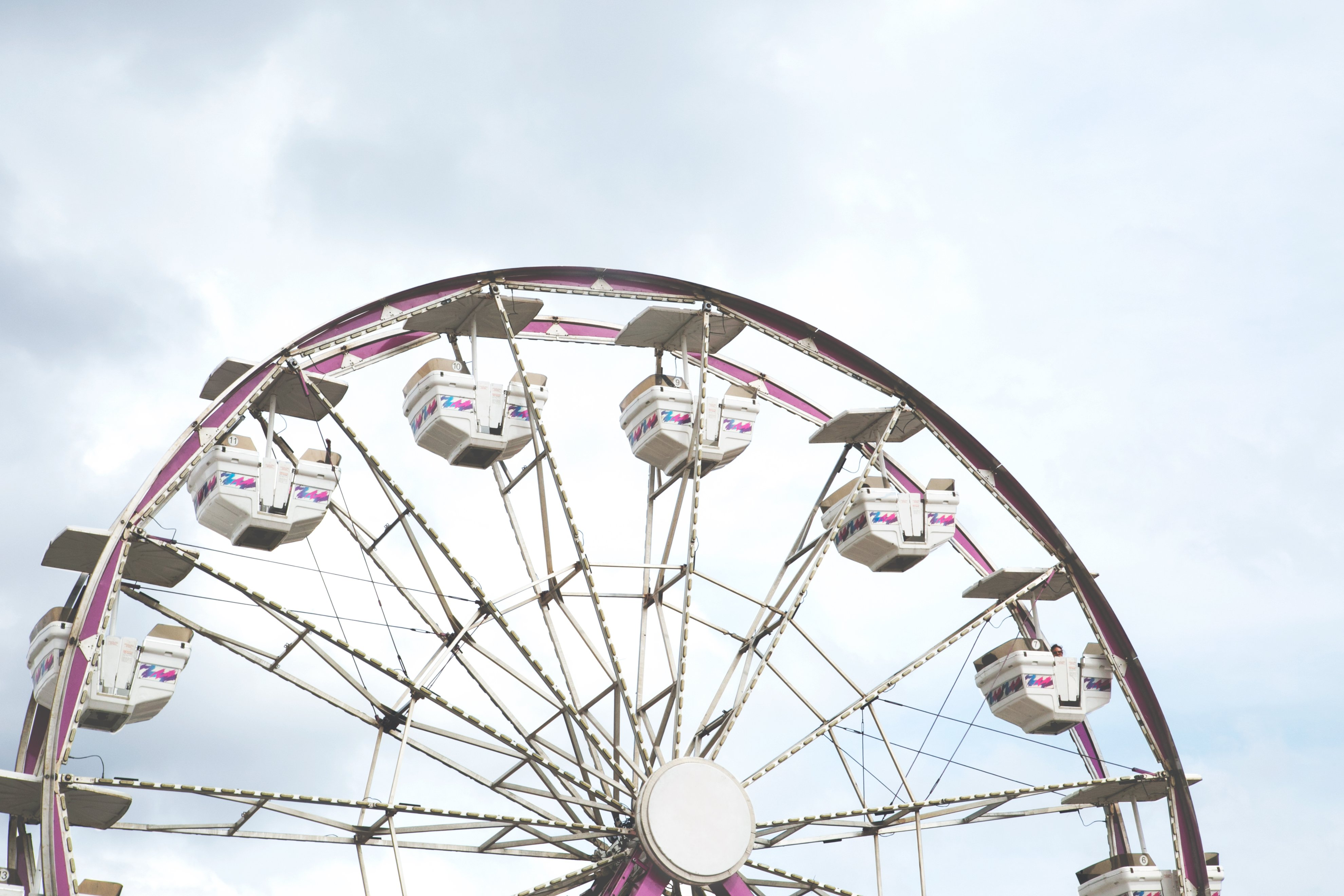 carnival ferris wheel. photo credit: Sarah Pflug on Burst.
