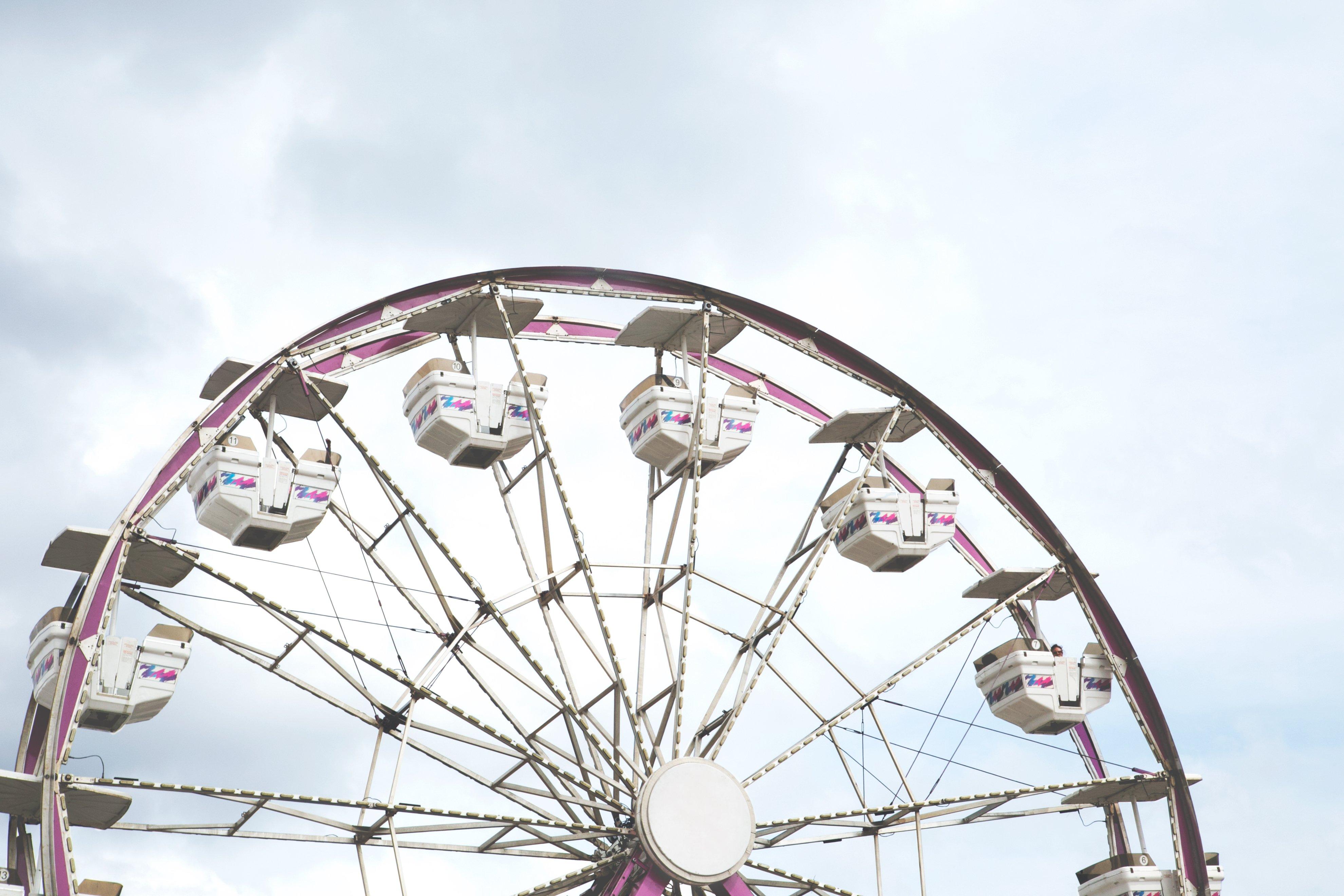carnival ferris wheel. Photo credit: Sarah Pflug for Burst.