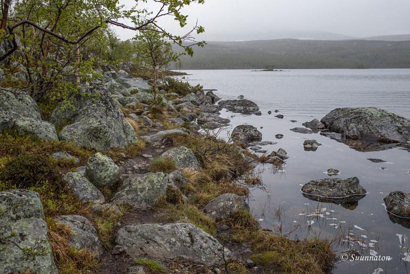Tsahkaljärvi, Kilpisjärvi