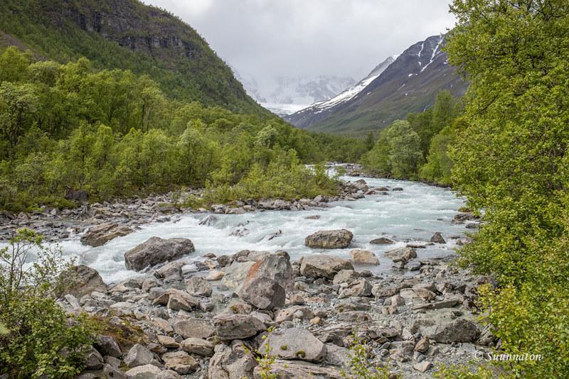 Lyngen, Lyngsdalen, Pohjois-Norja road trip